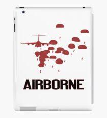 Airborne Jump (Airborne Red) iPad Case/Skin