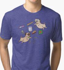 STEM Pugs Tri-blend T-Shirt
