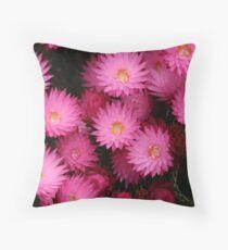 Paper daisies Throw Pillow