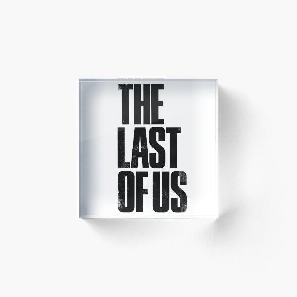 The Last Of Us logo Acrylic Block