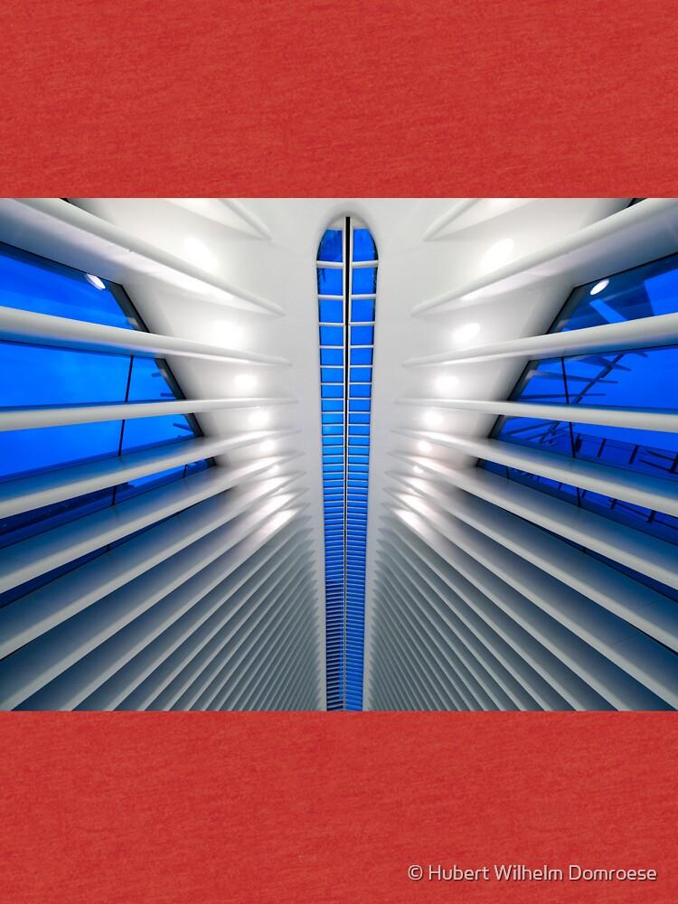 Detalle del Hub de Transporte del World Trade Center, Oculus, por el arquitecto Santiago Calatrava | Nueva York, NY de HWD-Foto