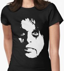 Prince Of Shock Rock Womens Fitted T-Shirt