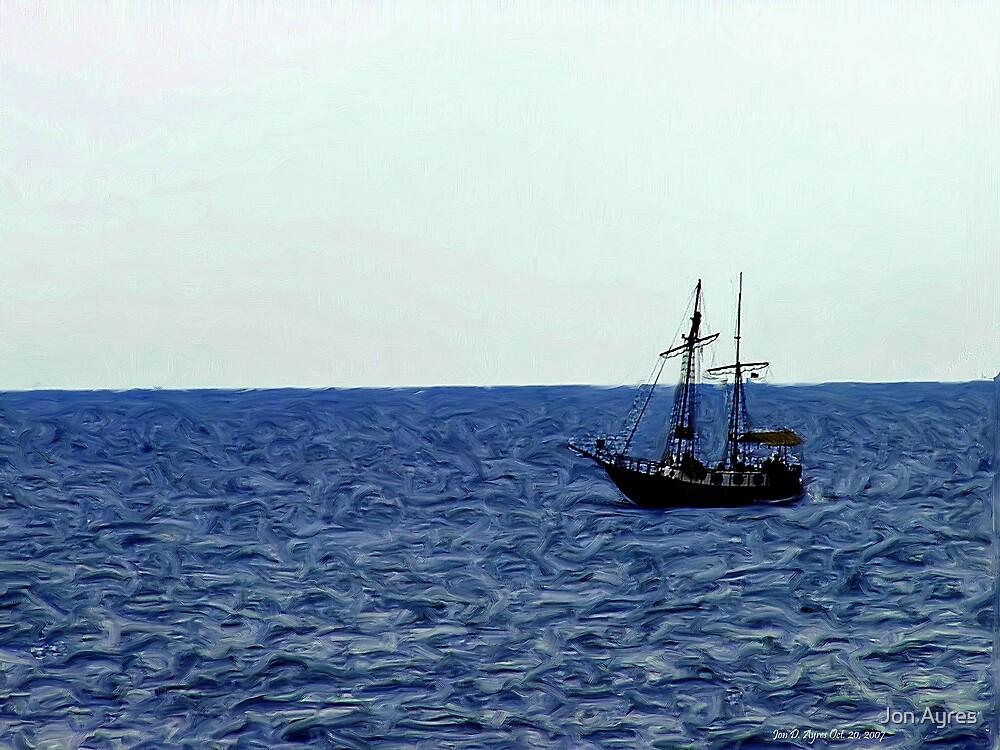 Deadman's Ship by Jon Ayres