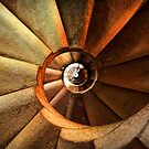 Spiral stairs by © Kira Bodensted