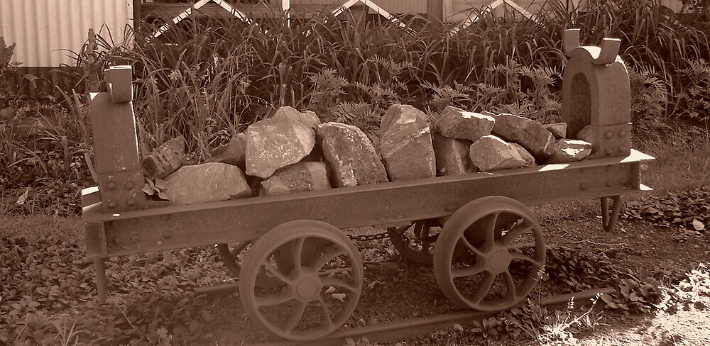 old school rail by Wazi