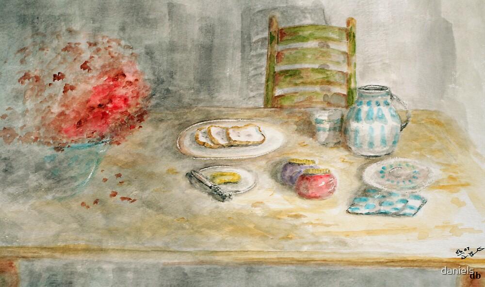 bread butter & jam by daniels