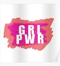 GRL PWR Poster