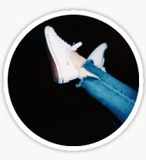 Vintage Shoes Sticker Sticker