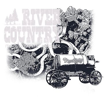 River Country - It's a Hoot It's a Holler! by retrocot