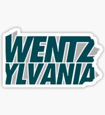 Wentzylvania 2 Sticker