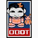 Opso Yo & Epo O'BABYBOT Toy Robot 2.0 by Carbon-Fibre Media