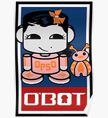 Opso Yo & Epo O'BABYBOT Toy Robot 2.0 Poster
