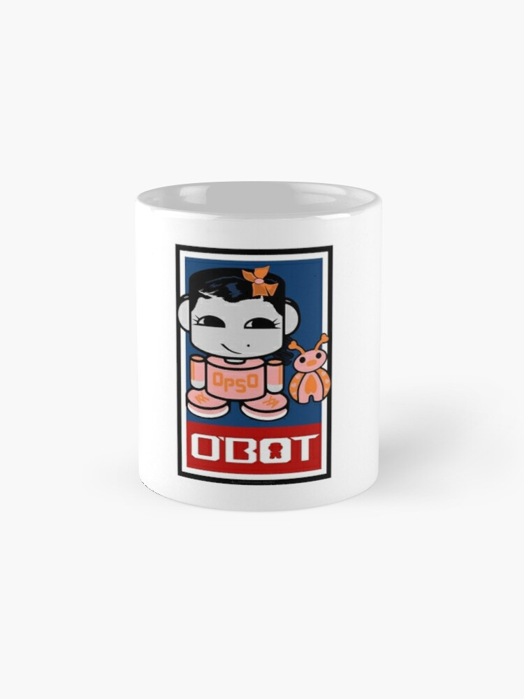 Alternate view of Opso Yo & Epo O'BABYBOT Toy Robot 2.0 Mugs