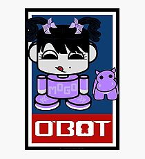 Mogo Yo & Crumple O'BABYBOT Toy Robot 2.0 Photographic Print