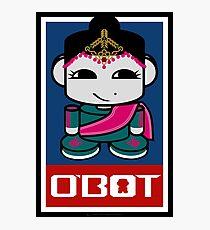 Kata O'BABYBOT Toy Robot 2.0 Photographic Print