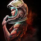 Cosmonaut by pertheseus