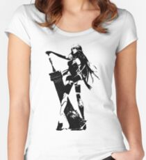 Weathered A2 Nier Automata Women's Fitted Scoop T-Shirt
