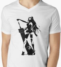 Weathered A2 Nier Automata Men's V-Neck T-Shirt