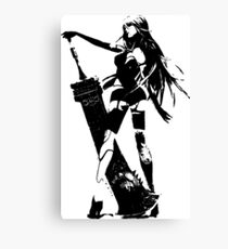 Weathered A2 Nier Automata Canvas Print