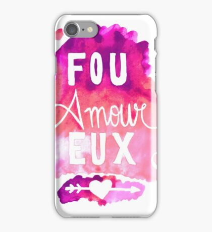 Fou Amour Eux - Crazy in Love iPhone Case/Skin