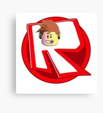 roblox logo Canvas Print