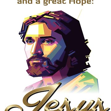 Easter is about a Promise and a great Hope: Jesus T-Shirt by crazyforshoppin