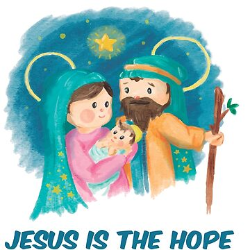 Easter Season: Jesus is the Hope and the Promise T-shirt by crazyforshoppin
