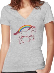 Laura's Shirt (updated) Women's Fitted V-Neck T-Shirt