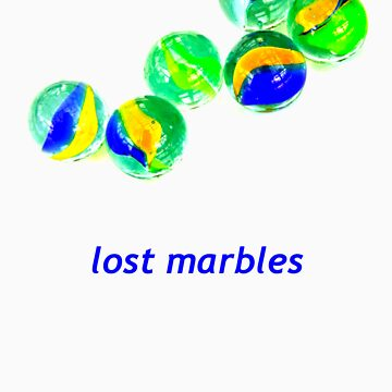 lost marbles by Oneof42