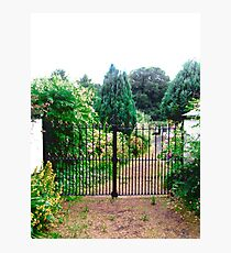 Garden Gate - near Inch Island, Donegal, Ireland Photographic Print