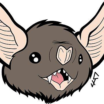 Bat face 2 de ChrisJeffery