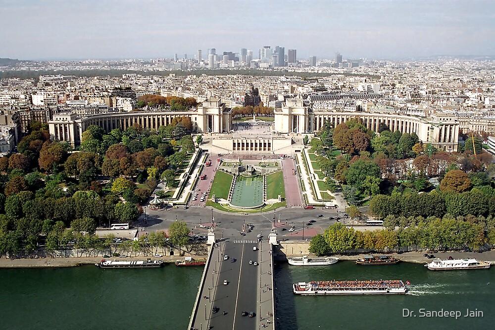 Paris skyline by Dr. Sandeep Jain