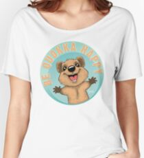 Be Quokka Happy Women's Relaxed Fit T-Shirt