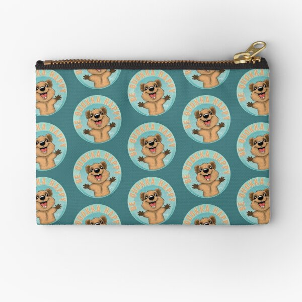 Be Quokka Happy Zipper Pouch