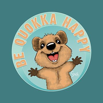 Be Quokka Happy by Stack