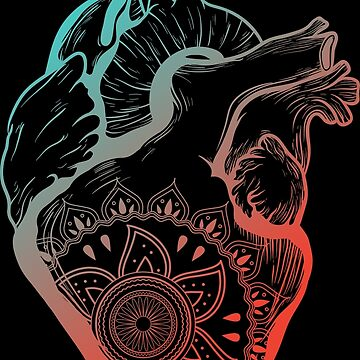 Coloured Heart Design by AppRise