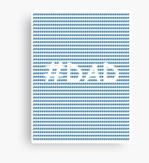 #DAD Canvas Print