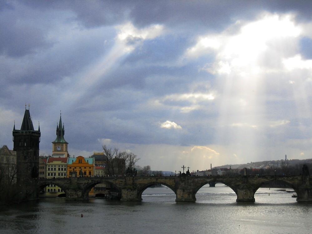 Charles Bridge, Prague by Rudolf