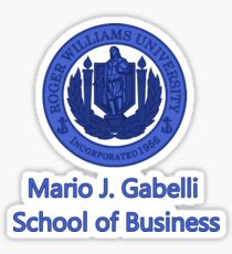 Mario J. Gabelli School of Business Sticker