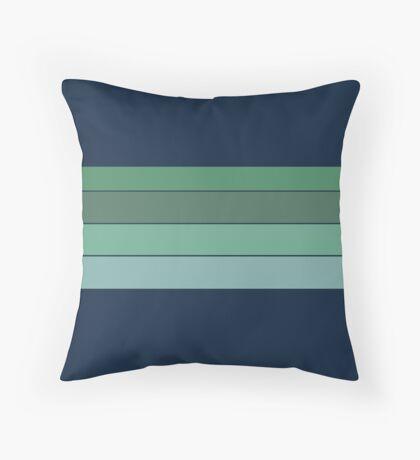 BLUE CORAL Custom Pattern Throw Pillow