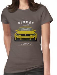 Bimmer Squad Womens Fitted T-Shirt