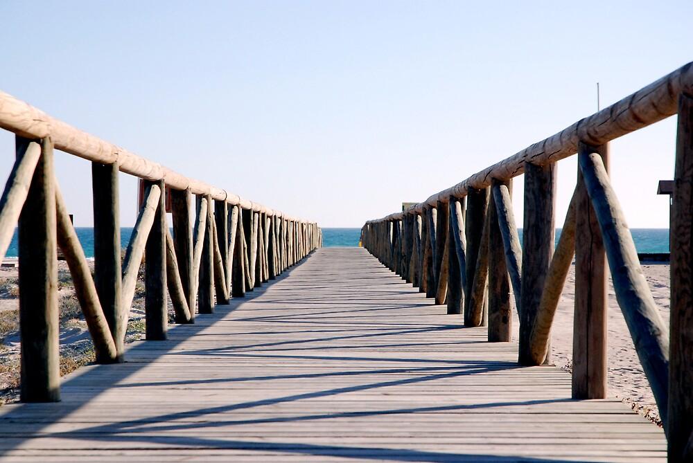 Boardwalk, Los Atunes, SP by Rudolf