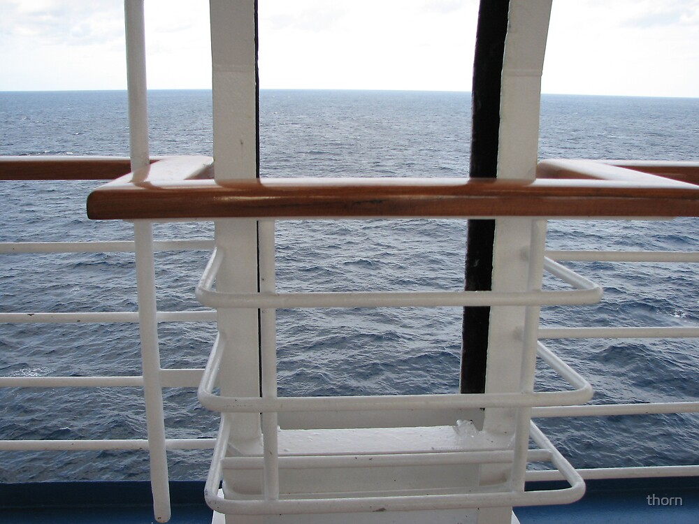 Cruise Ship view by thorn