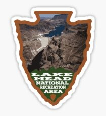 Lake Mead National Recreation Area arrowhead Sticker