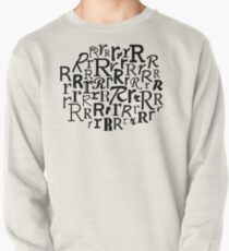 R | Typography (White) Pullover