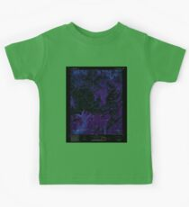 USGS TOPO Map Colorado CO Willow Spring 234937 1993 24000 Inverted Kids Tee