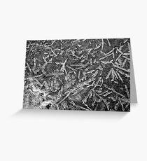 Winter Ice 5 Greeting Card