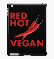 Red Hot Vegan iPad Case/Skin