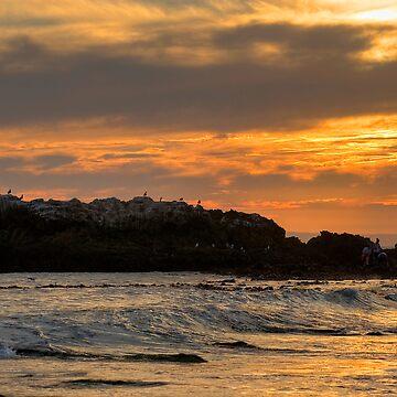 Laguna Beach Sunset by BGPhoto
