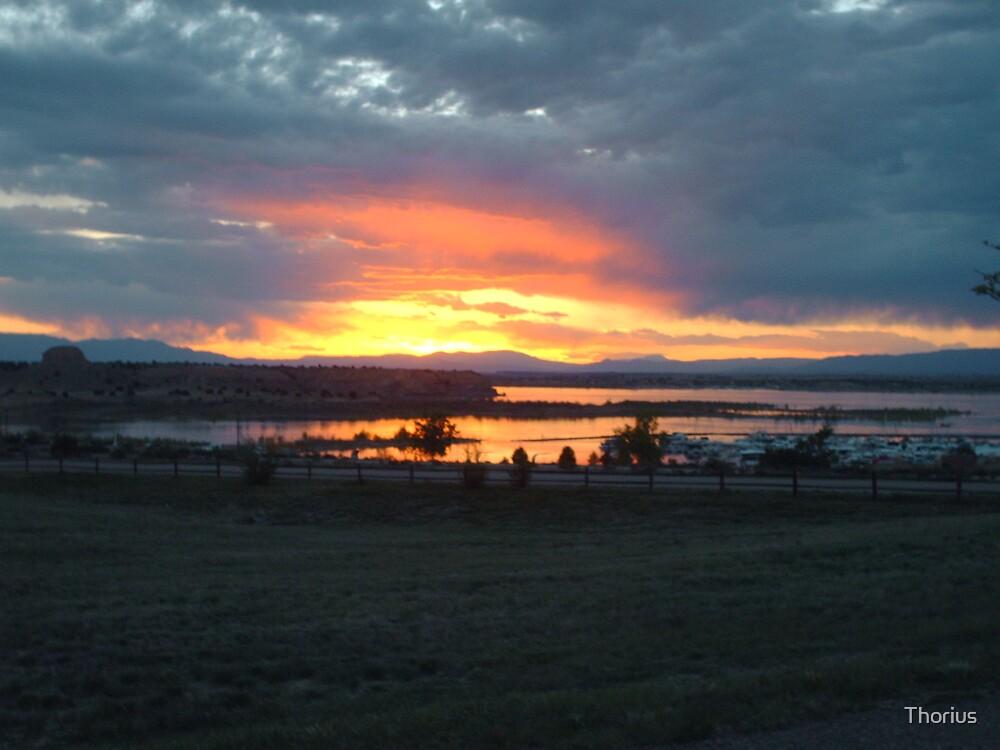 Lake Pueblo Sunset by Thorius